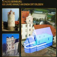 Ausstellung in der Kapelle: Schloss Bernburg als Erinnerungsort