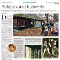 MZ-Presseartikel vom 08.11.2017 zum Bernburger Lohelandhaus