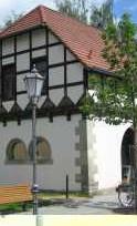 Kutscherhaus, Außenaufnahme